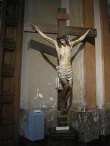 Kruzifix in der Kathedrale von Buenos Aires, Argentinien. Foto JoBo, 09-2012
