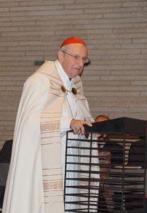 Joachim Kardinal Meisner bei seiner Predigt zu Lk 10, 25-37. Foto: Josef Bordat.