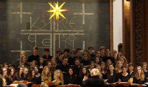 Der Chor der Beethoven-Oberschule. Foto: JoBo, 12-2013.