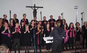 St. Konrad Gospelchor. Foto: JoBo, 5-2014.