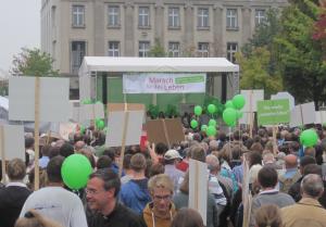 Marsch für das Leben 2014. Kundgebung. Foto: JoBo, 9-2014.