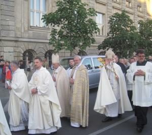 Weihbischof Dr. Matthias Heinrich stand der Liturgie vor - zum (voraussichtlich) letzten Mal.