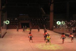 Sport bei den Azteken und Maya. Foto: JoBo, 10-2014.