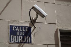 Los Borja. Still watching you! - Foto: JoBo, 4-2016.